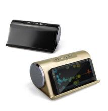 Bluetooth Hangszóró Telefontartó MU-V9 TF USB AUX FM