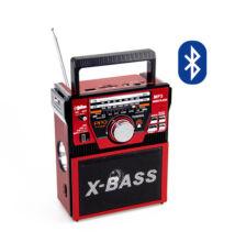 Bluetooth hordozható multimédia lejátszó lámpával P-319UBT MP3 USB FM rádió TF SD
