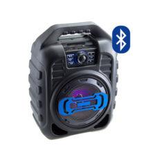 Bluetooth hordozható multimédia lejátszó 9W MP3 USB FM rádió TF B123