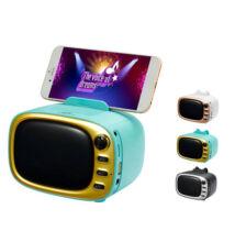Bluetooth Hangszóró Kihangosító Telefontartóval TF USB AUX FM WS-5368