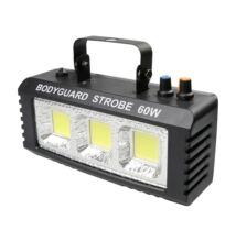 COB stroboszkóp világítás 3 LED 60W