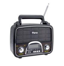 Hordozható multimédia lejátszó SPE-RA1080 MP3 USB TF FM AM SW rádió RETRÓ