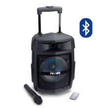 Hordozható Karaoke hangfal szett vezeték nélküli mikrofonnal ES-02S