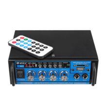 Karaoke keverő kétcsatornás USB SD FM MP3 BT-188A