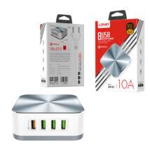 LDNIO A8101 Hálózati töltő 8 USB HUB QC3 gyorstöltéssel