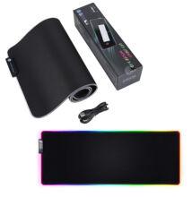 Világító LED RGB gamer egérpad LED-01