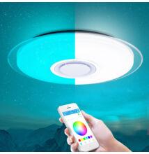 RGB LED Mennyezeti Kör Lámpa Csillagos Égbolt Beépített Bluetooth Hangszóró 46cm 58cm