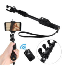 Bluetooth szelfibot kivehető távirányítóval teleszkópos