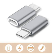 Micro USB Type C Átalakító Adapter
