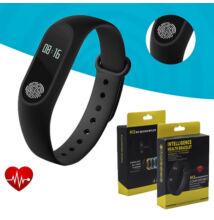 M2 Bluetooth okoskarkötő pulzusmérő aktivitásmérő iOS/Android