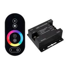 RGB LED szalag vezérlő érintős touch rádiós vezérlés