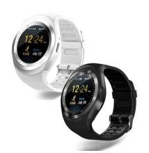 Smart Watch Okosóra Szilikonszíjjal Bluetooth SIM kártyás