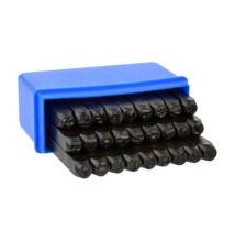 Geko betűbeütő készlet 27 darabos 6mm G01812