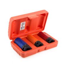 Kraftech vékonyfalú hosszított dugókulcs készlet 3 darabos 1/2 HM-6549