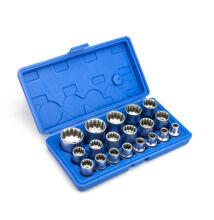 """Dugókulcs készlet 1/2"""" 19db 8-32mm HA-1446"""