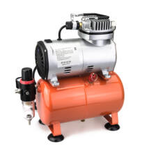 Haina airbrush mini olajmentes kompresszor 1100W 3liter