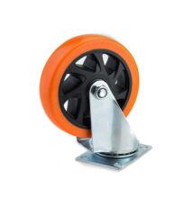 Szerelhető kerék 120mm műanyag forgó