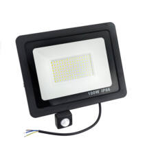 Kültéri LED reflektor mozgásérzékelővel 100W IP66