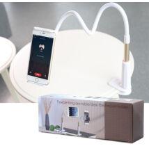 Felcsíptethető flexibilis univerzális telefontartó