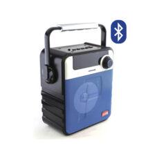 Bluetooth hordozható multimédia lejátszó MP3 USB FM rádió SD P-35