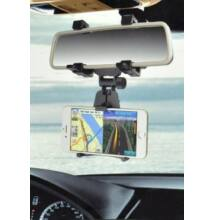Autós telefontartó visszapillantó tükörre rögzíthető