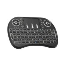 Vezeték nélküli mini billentyűzet touchpad Smart TV billentyűzet
