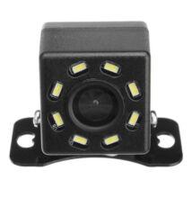 Vízálló tolatókamera 8 LED