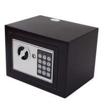 Mini digitális széf bútorszéf fekete T-17