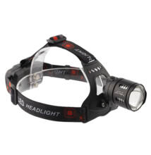 X-BALOG nagy fényerejű zoomolható LED fejlámpa tölthető 2000Lm BL-T30-P50