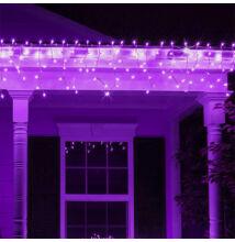 Jégcsap 180 LED Fényfüzér Lila 6,6m