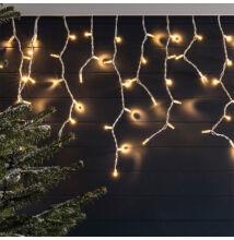 Jégcsap 180 LED Fényfüzér Meleg Fehér 5m /Sárga/