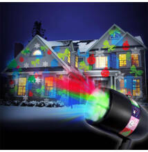 SLIDE fényjáték projektor 48 mintával karácsony húsvét halloween