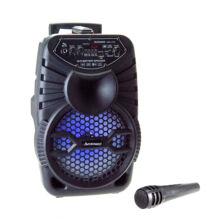Bluetooth hordozható multimédia lejátszó karaoke mikrofonnal MP3 USB FM rádió TF CH-829