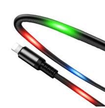LED világítós USB töltő kábel Lightning USB kábel DC10i