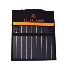 Hordozható összecsukható napelem panel  Solar Pack napelemes töltő 20W