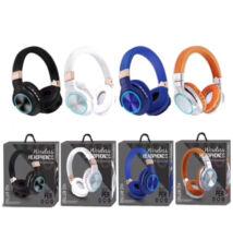 Vezeték nélküli Bluetooth sztereó fejhallgató mikrofonnal Mp3 TF SD  HZ-BT760