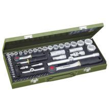"""PROXXON 56 részes dugókulcs készlet hatlapú 1/4"""" - 1/2"""" 4-32mm 23040"""