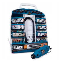 Black gravírozó készlet mini köszörű 300 részes készlet 42650