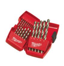 MILWAUKEE Csigafúró készlet HSS G DIN 338 19 részes 1,0-10,0 mm