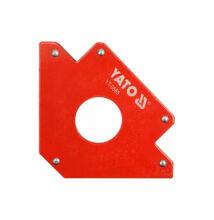 YATO hegesztési munkadarabtartó mágneses 122x190x25 YT-0865