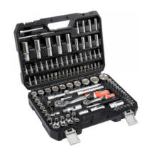 """YATO Dugókulcs készlet 108 részes 1/2"""" 10-32mm 1/4"""" 4-14mm CrV YT-38791"""