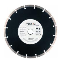 YATO Gyémánt vágótárcsa 230 mm szegmentált YT-6005
