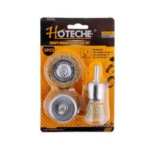 Hoteche drótcsiszoló készlet fúrógépbe 3 részes