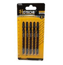 Hoteche Dekopír fűrészlap 5 részes keményfa furnér farostlemez műanyag Bosch befogás