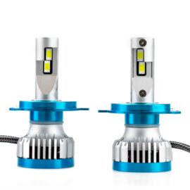 LED autó fényszóró izzó 100W 15000LM ködlámpa 6000K H4
