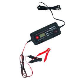Straus Akkumulátor Töltő LCD Kijelzővel Intelligens Automata 70W 8A ST/CA8-120IT