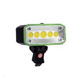 COB LED bicikli kerékpár lámpa első vagy hátsó USB tölthető CB-965