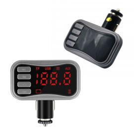 Bluetooth FM transzmitter 2xUSB TF AUX KCB-902