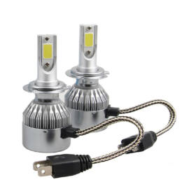 Autó LED 12V 36W 7600Lm 6000K H7 H4 H1 2 darabos készlet