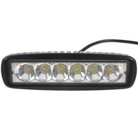Autós LED reflektor munkalámpa 15cm 6LED 1770LM 18W
